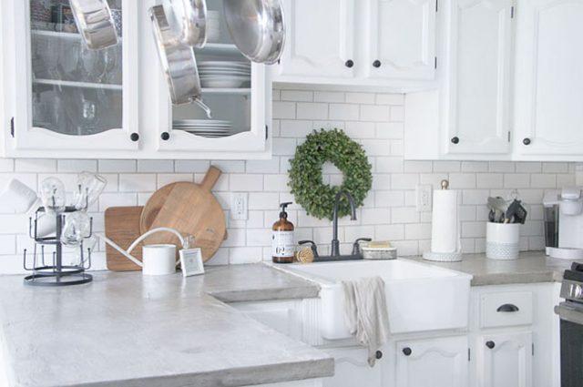 پوششهای بتنی آشپزخانه