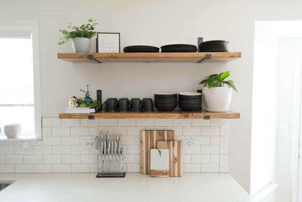 قفسههای آشپزخانه