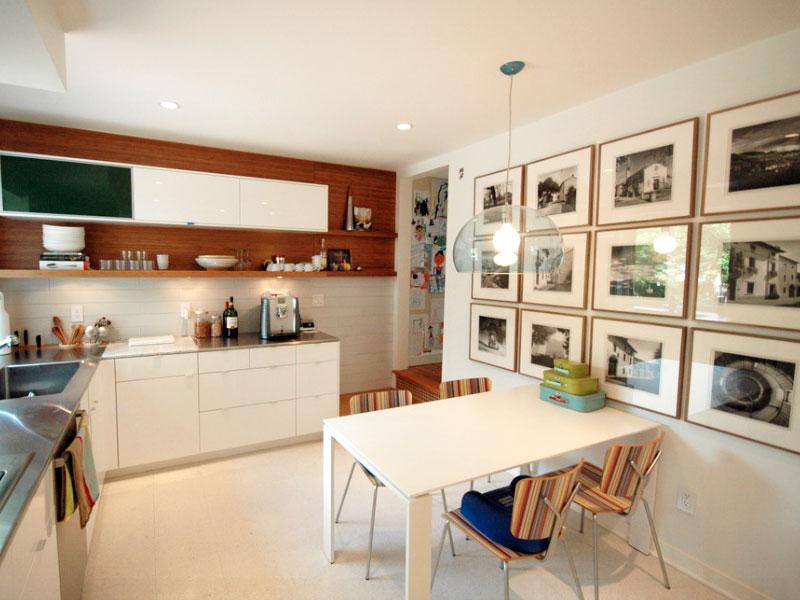 گالری در آشپزخانه