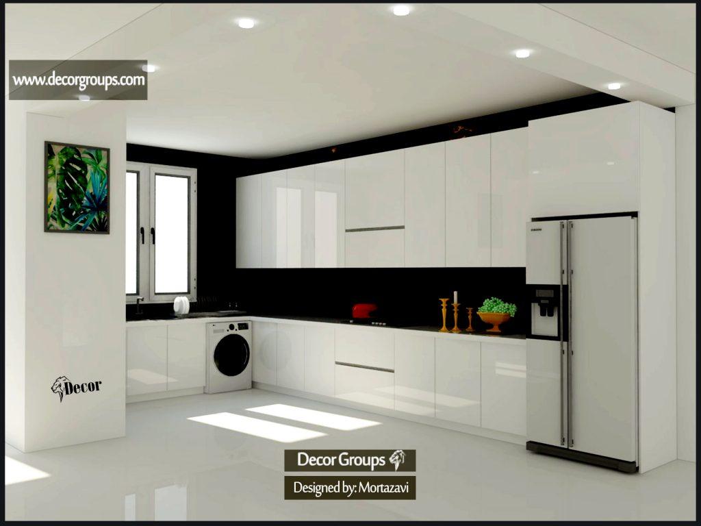 طراحی کابینت مدرن a1