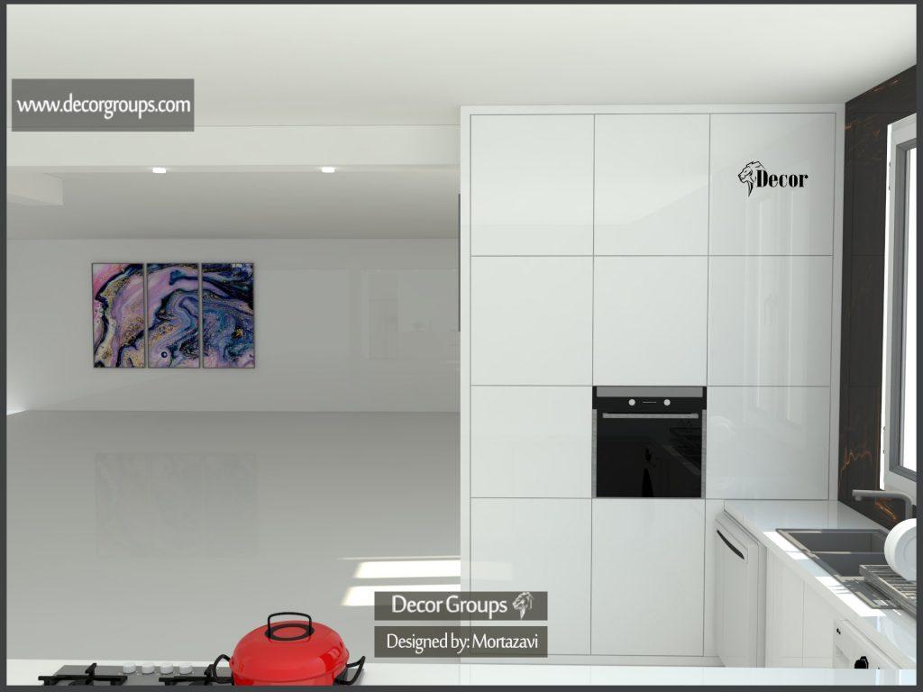 طراحی کابینت مدرن a3