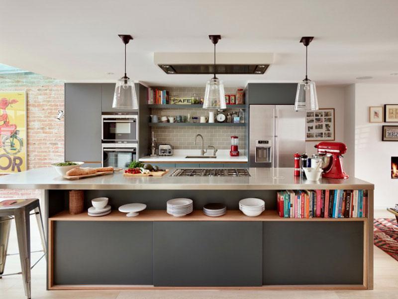 قفسههای بیشتر در آشپزخانه کوچک